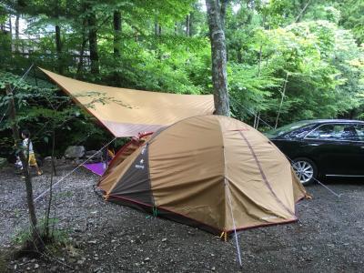 2018 初子連れキャンプ!!~キャンパーに人気の道志の森キャンプ場はどんなとこ!?初のキャンプが雨でどうなる~