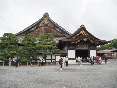 修学旅行以来約30年ぶりの京都旅 ①まずは世界遺産&日本百名城の二条城へ。そして夜はなぜか京セラドームで交流戦観戦