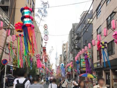 下町七夕まつり2018~上野の七夕祭り~