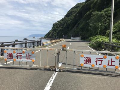 真夏の日本海、北陸一人旅・・