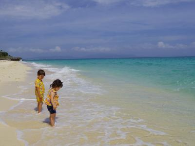 沖縄の友人を訪ねて、3・5歳児子連れ3泊4日:出発~名護~伊江島編