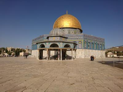エルサレム&ヨルダン5 神殿の丘
