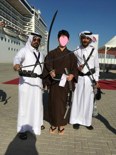 着物で行く子連れクルーズ旅行記 ペルシャ湾編 8(ドーハに寄港)