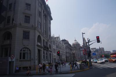 2018年7月8日一次帰国休暇 上海、黄山旅行