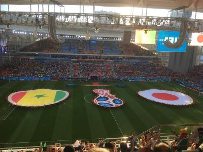 ワールドカップ観戦