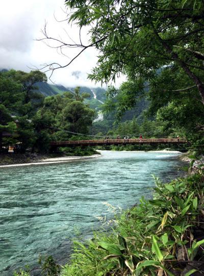 初夏の上高地日帰りハイキング 大正池~河童橋