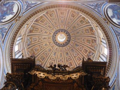 2018夏休み☆芸術、グルメ、世界遺産!なヨーロッパ その7 サン・ピエトロ大聖堂で息をのむ☆