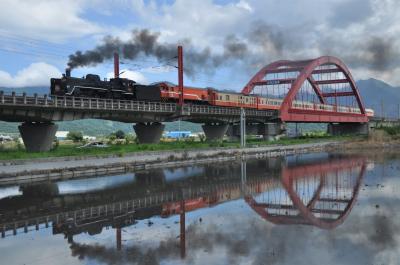 C57(CT270)型蒸気機関車が台湾で復活したので、今年(2018年)も、出動して来ました。
