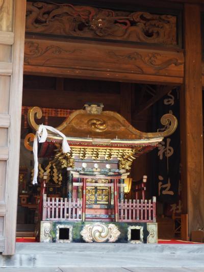 高来神社 神宿る山に名だたる武将達の歴史の波にのまれ、東照宮として祀られ、そして明治・神仏分離の憂き目に・・・
