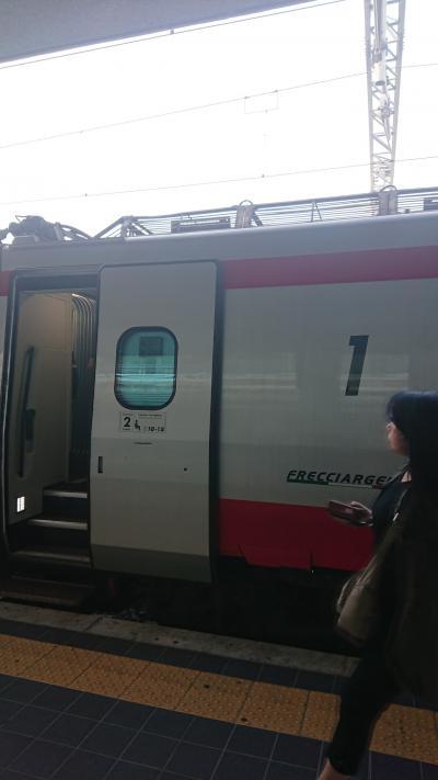 7月8~22日、ローマ+郊外+かかと部分に一人旅(電車でバーリ→カステッラネータ移動編)