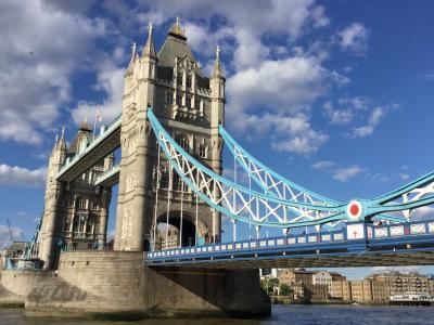 4連泊のロンドン(ホテル近辺のテムズ川を散策)