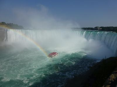 憧れの夏のカナダ旅行その① 大迫力ナイアガラの滝を空・陸・水上から満喫