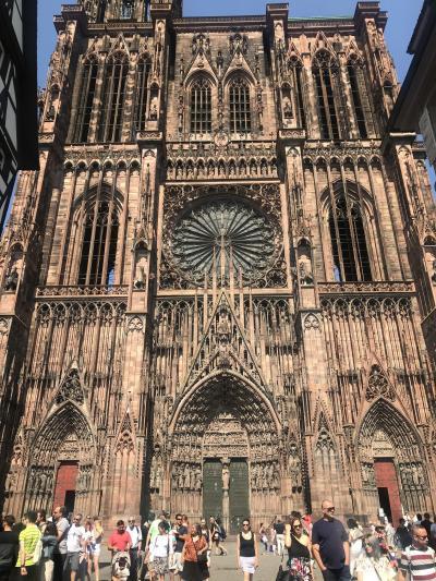 Paris, Strasbourg, Cormar