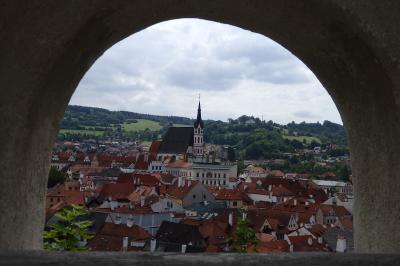 思いがけず音楽旅行になったチェコ・オーストリア・ドイツの旅。④途中でチェスキークルムロフに寄ってウィーン入り。