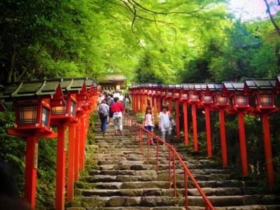 【京都】夏の鞍馬寺・貴船神社