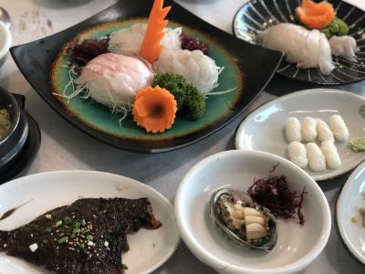 釜山のカフェ&海鮮グルメ旅