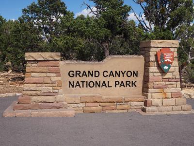 ロサンゼルスと国立公園をめぐる旅 2日目ラスベガス~ページへ グランドキャニオン