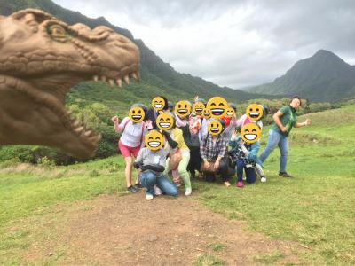 総勢14名でハワイに行ってきました^^クアロア牧場とエルビスプレスリーに会いに行く!②