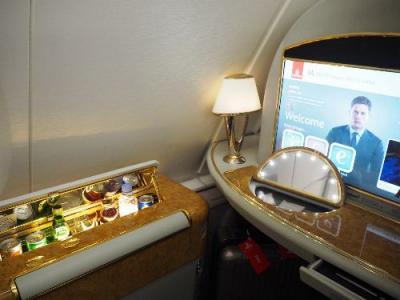 音楽とカフェの都ウィーン①夢のエミレーツ航空A380ファースト 成田=ドバイ