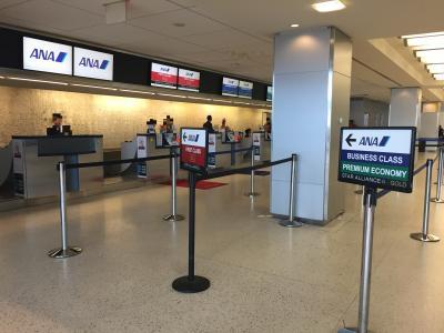 ANAビジネスクラスで秋のニューヨークへ ⑥ JFK国際空港ターミナル7にあるANAスタアラゴールド&プライオリティパスで入れるラウンジは? 2018年4月30日にPriority Passで入れるアラスカ航空の『Alaska Lounge(アラスカラウンジ)』がオープン!『British Airways Galleries Lounge(ブリティッシュ・エアウェイズ ギャラリラウンジ)』、JFK国際空港-羽田国際空港間の全日空ビジネスクラス(ボーイング777-300ER)の機内サービス ($・・)/~