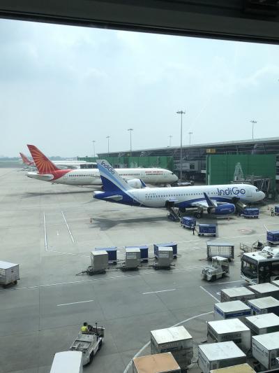 デリーからムンバイ国内線➡国際線への乗り継ぎ