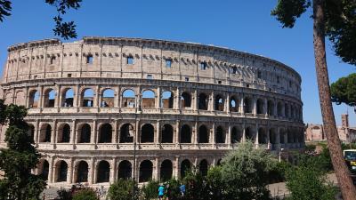 7月8~22日、ローマ+郊外+かかと部分に一人旅(コロッセオ・最上階ツアー編)