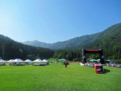 猛暑日に『マウンテントレイル in 野沢温泉』で23km走と温泉三昧