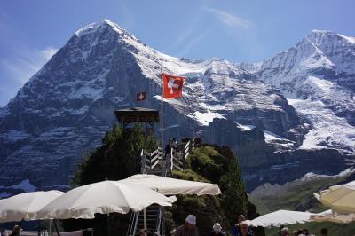 スイス(Switzerland)旅行 2017年8月 ③ グリンデルワルト(Grindelwald)