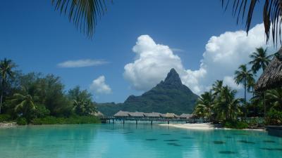 初めてのタヒチはボラボラ島・インターコンチネンタルリゾート& タラソスパ