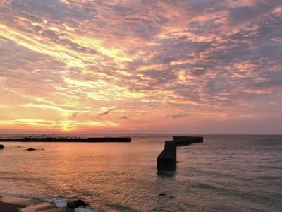 梅雨明けの種子島、海岸が最高、