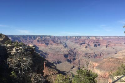 北アメリカ大陸の大きさと自然を大いに感じる8日間