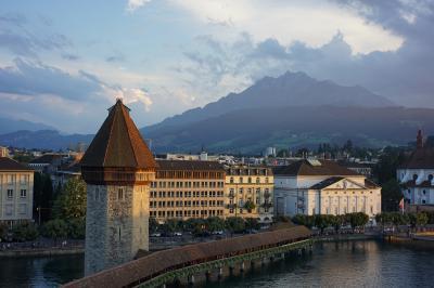 スイス(Switzerland)旅行 2017年8月 ⑤ 氷河特急、ルツェルン(Glacier Express、Luzern)