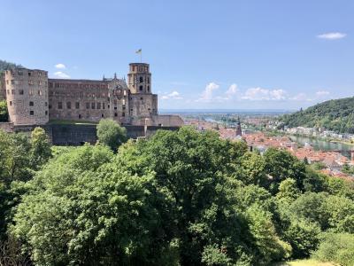 ハイデルベルク:古城でのんびり[2018年7月ヨーロッパ旅行13]