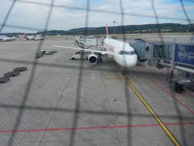 スイス国際航空 チューリッヒ→ウィーン A320 エコノミークラス 搭乗記