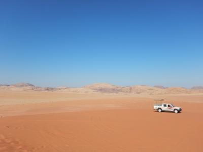 ヨルダン旅行⑤ワディラム~ペトラバイナイト