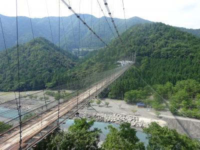 日本一距離の長い路線バスに乗ってみたくて  熊野本宮温泉郷のひとつ川湯温泉に行って来ました