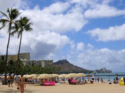 2018.7 ハワイ オーシャンビューの部屋を満喫  出発・到着編