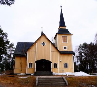 2018.5  23回目のフィンランド旅行4-Ranua村Simojarviのコテージでゆっくり 5月の雪