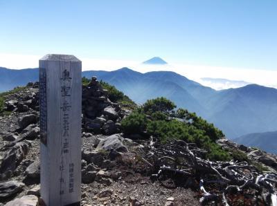 南アルプス南部の旅1 聖岳・兎岳