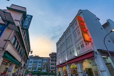 初めてのシンガポール (旅立ちと、シンガポール到着1日目) チャイナタウン