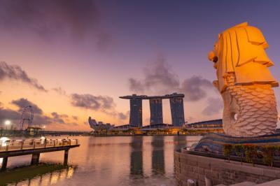 初めてのシンガポール(4日目の昼) マリーナベイサンズ宿泊・インフィニティプール