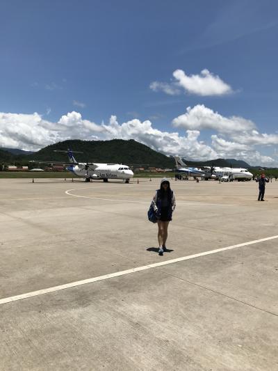 ネックさん 3 ラオス・世界遺産ルアンプラバンへ飛ぶ