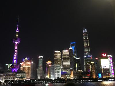 JALビジネスクラスで行く初めての上海① 外灘夜景観賞、JWマリオット・ホテル上海アット・トゥモロースクエアに宿泊