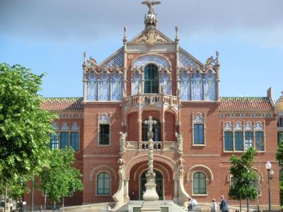 シニア夫婦のスペイン・ポルトガル周遊旅行(1)バルセロナその1・グエル公園からサン・パウ病院へ