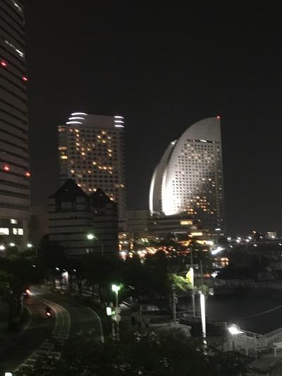 横浜のホテルでのんびり一泊