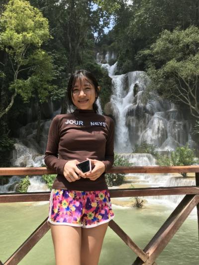 ネックさん  5 クァンシーの滝を楽しむ