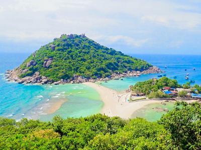初めてのタイなのに離島へGO!!タオ島のジャマキリリゾート到着と秘境のナンユアン島編 2