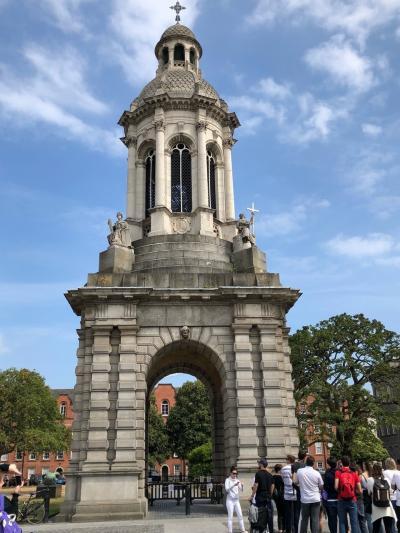 2018.7月ダブリンに行ってみた。No.1成田からアブダビ経由ダブリンへダブリン観光1日目 トリニティカレッジ、アイルランド国立美術館
