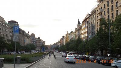 春のチェコとウィーンを巡る(チェコ編) 2 1日目 出国~プラハ