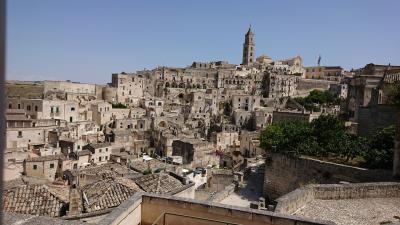 7月8~22日、ローマ+郊外+かかと部分に一人旅(マテーラ編)